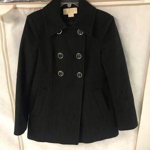 Michael Kors Black Peacoat size 4